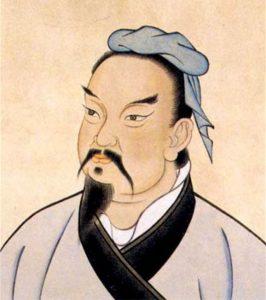 Tôn Tử tên thật là Tôn Vũ. Tranh vẽ thời nhà Minh