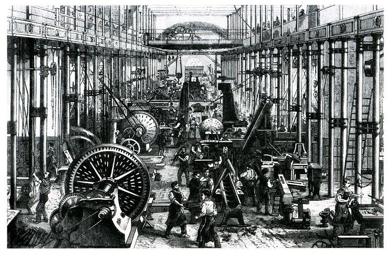 Các công trình máy của Richard Hartmann ở Chemnitz