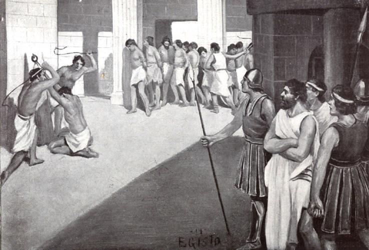 Nô lệ được xem như là một tài sản, bị mua bán như hàng hóa vào thời kỳ chiếm hữu nô lệ