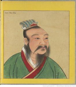 Hán văn Đế: Lưu Hằng. Ảnh minh họa