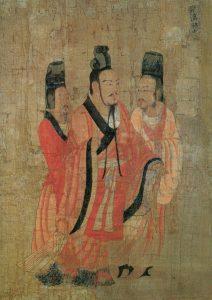 Tranh vẽ Hán Chiêu đế Lưu Phất Lăng