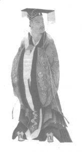 Tranh vẽ Hán Quang Võ Đế: Lưu Tú
