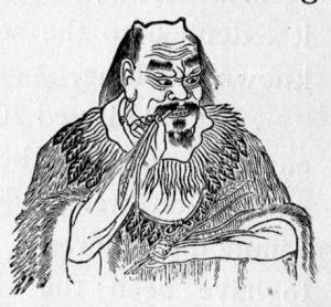minh họa Viêm Đế Thần Nông